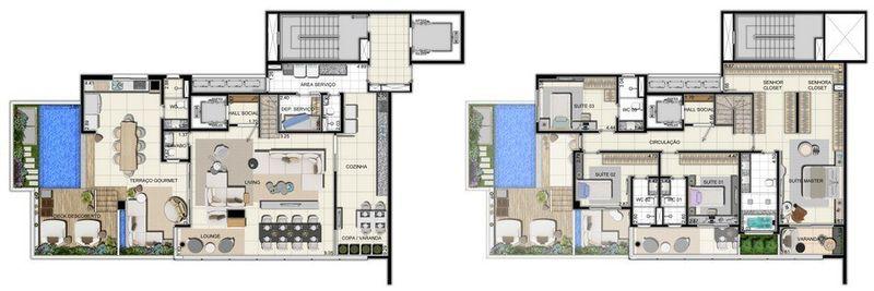 Apartamento a venda, Adrianópolis, Manaus, AM. - AM20001 - 18
