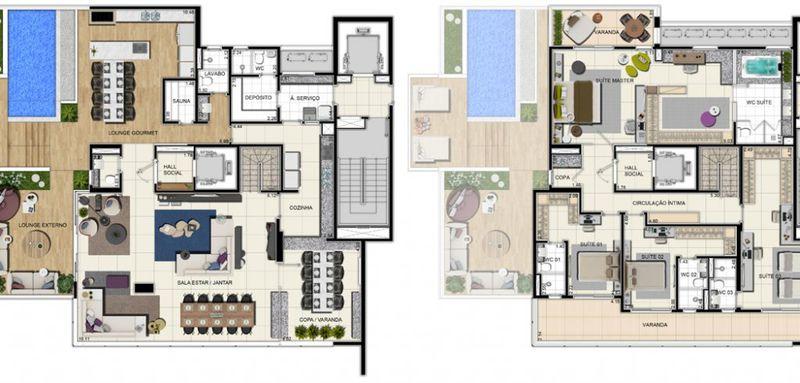 Apartamento a venda, Adrianópolis, Manaus, AM. - AM20001 - 21
