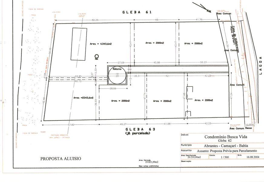 Área a venda em Busca Vida - Camaçari, BA - BA51001 - 12