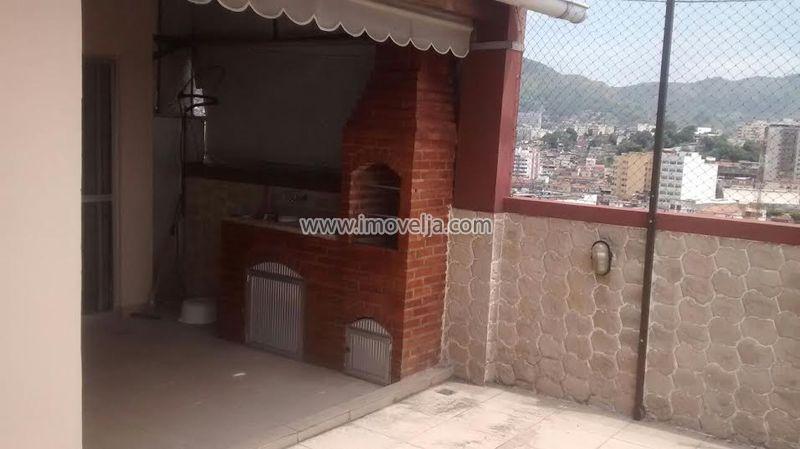 Cobertura duplex, 2 quartos, terraço, 1 vaga , 24 de Maio, Engenho Novo, Rio de Janeiro, RJ - 000365 - 3