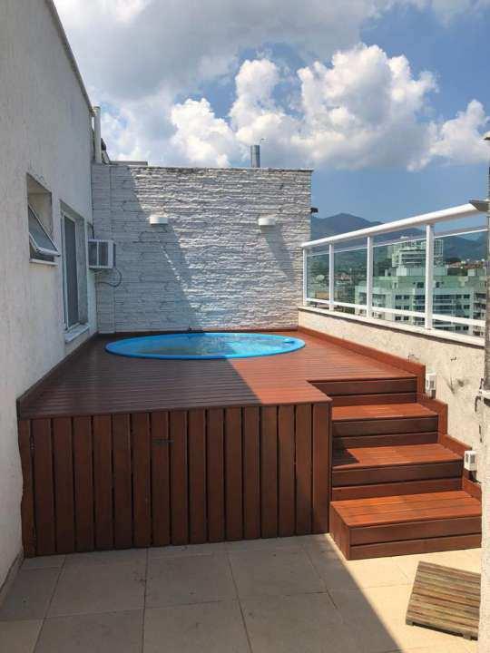 Cobertura 4 quartos à venda Rio de Janeiro,RJ - R$ 515.000 - 109COB3QPECHINCHA - 4