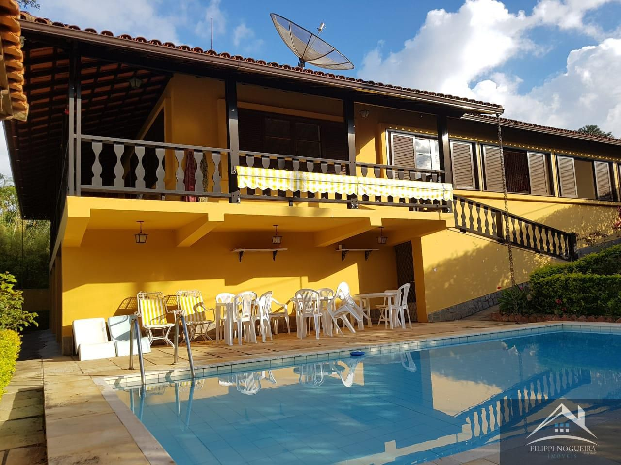 Excelente imóvel com 6 quartos e piscina na Vila Suissa. - csvl - 4