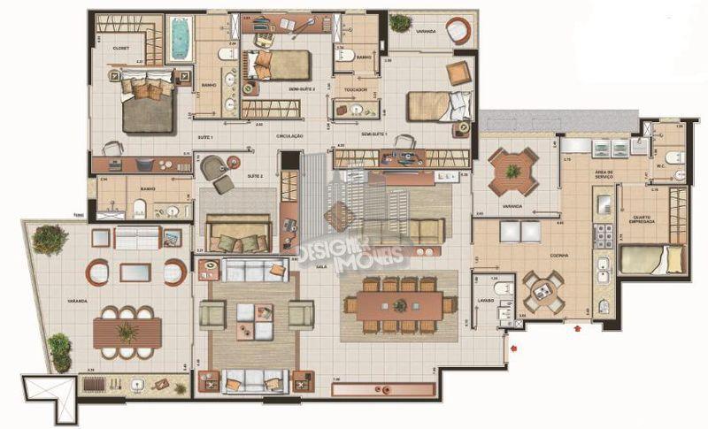 Apartamento 4 quartos à venda Rio de Janeiro,RJ - R$ 2.320.000 - VRA3013 - 49