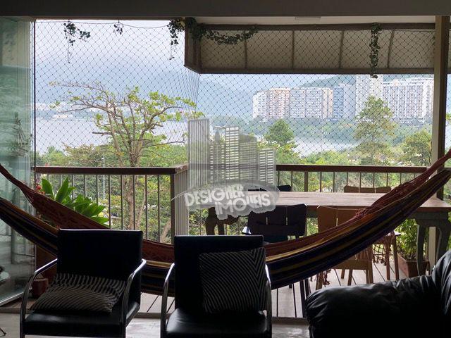 VARANDA COM CORTINA DE VIDRO - Apartamento Para Alugar - Rio de Janeiro - RJ - Lagoa - LRA3007 - 6