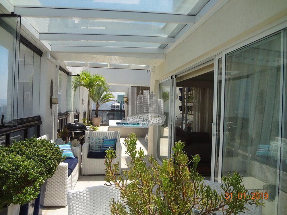 Cobertura Para Alugar no Condomínio PORTOFINO - MEDITERRÂNEO - Rio de Janeiro - RJ - Barra da Tijuca - LRA3027 - 2