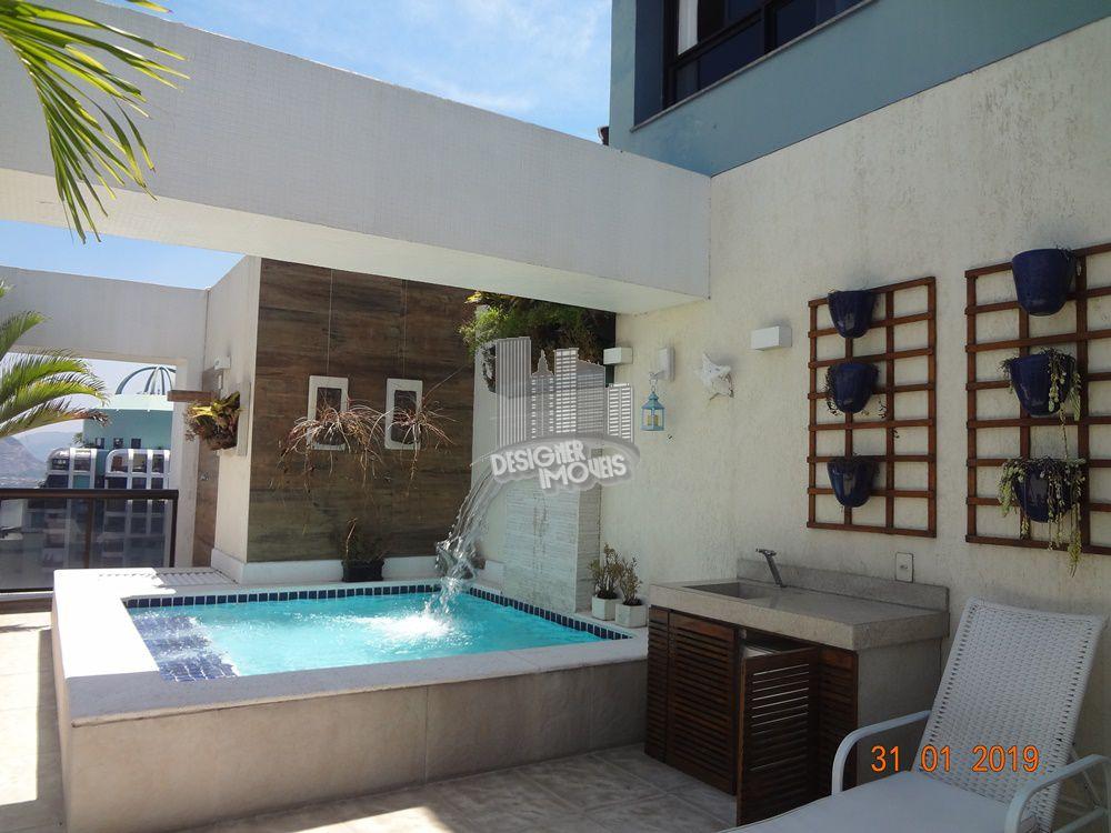 Cobertura Para Alugar no Condomínio PORTOFINO - MEDITERRÂNEO - Rio de Janeiro - RJ - Barra da Tijuca - LRA3027 - 5