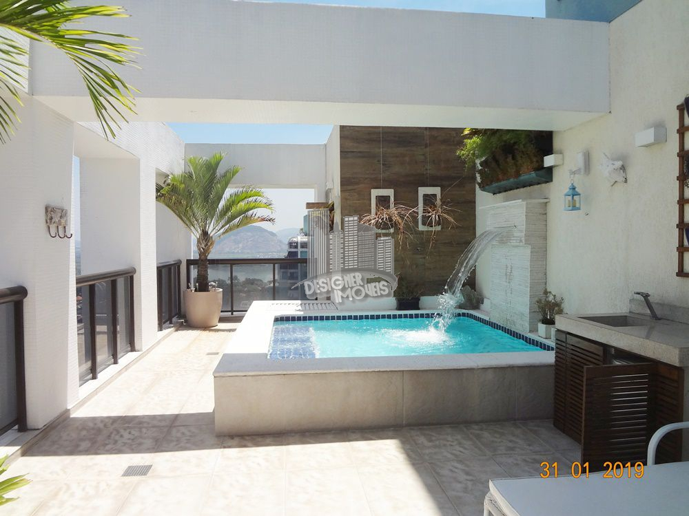 Cobertura Para Alugar no Condomínio PORTOFINO - MEDITERRÂNEO - Rio de Janeiro - RJ - Barra da Tijuca - LRA3027 - 6