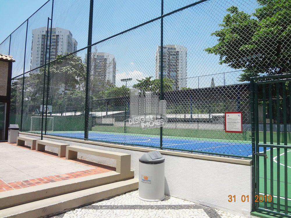 quadra poliesportiva - Cobertura Para Alugar no Condomínio PORTOFINO - MEDITERRÂNEO - Rio de Janeiro - RJ - Barra da Tijuca - LRA3027 - 75