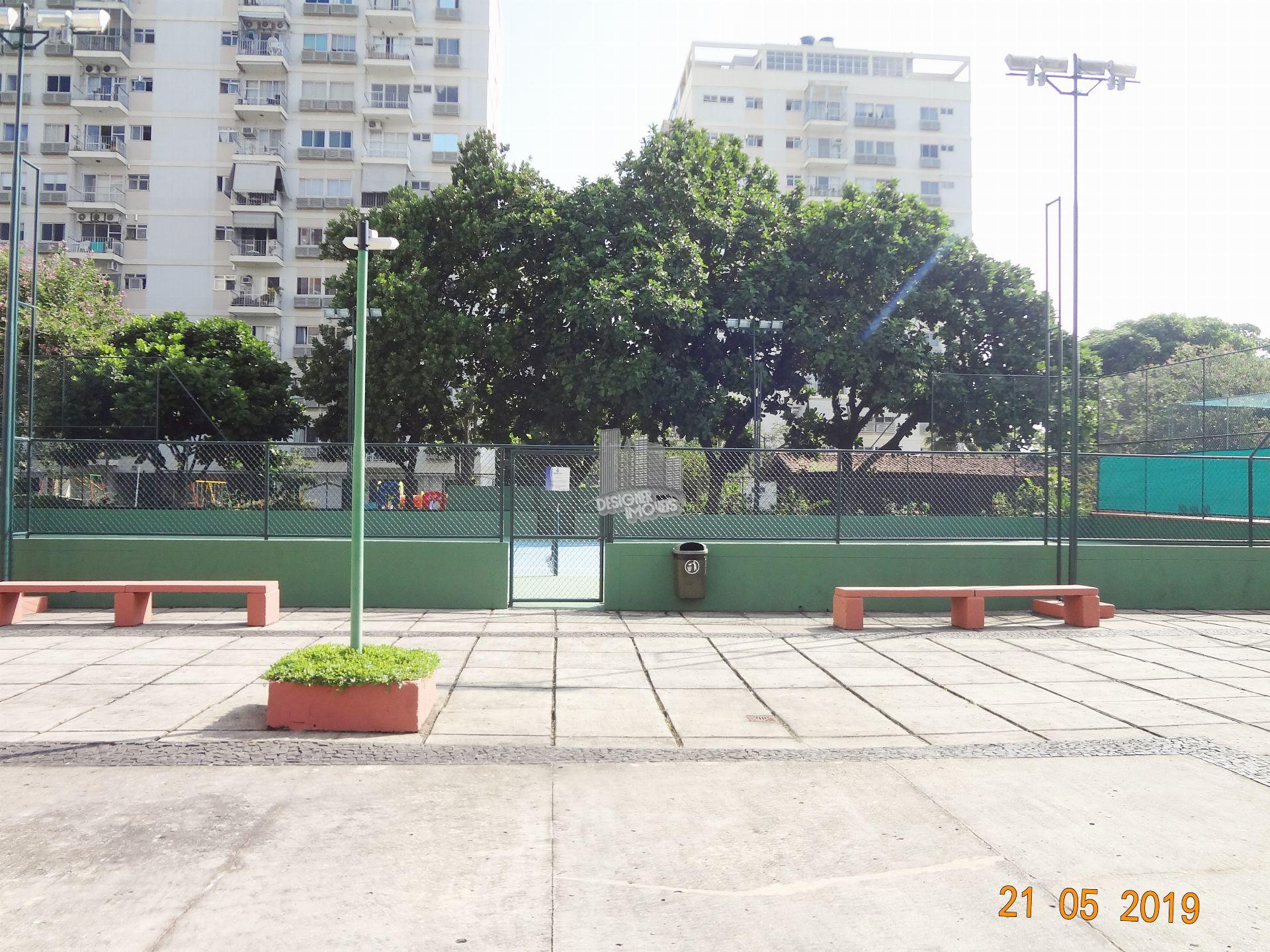 QUADRA DE TÊNIS - Apartamento Condomínio SOLAR DA BARRA, Rua Vilhena de Morais,Rio de Janeiro, Zona Oeste,Barra da Tijuca, RJ À Venda, 3 Quartos, 115m² - VRA3025 - 36