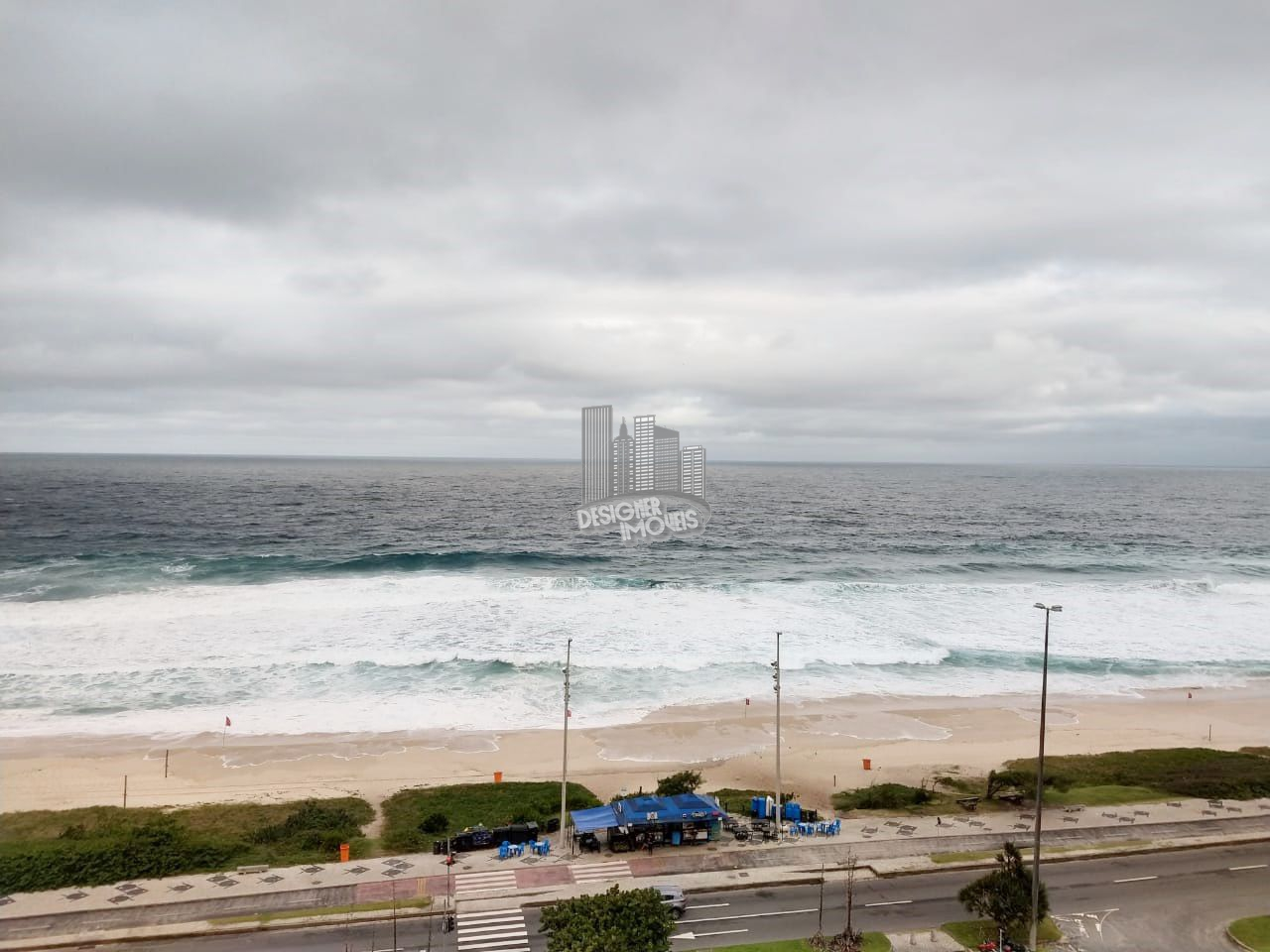 Flat Condomínio Barra Royal Plaza, Avenida Lucio Costa,Rio de Janeiro, Zona Oeste,Barra da Tijuca, RJ Para Alugar, 1 Quarto, 50m² - FLAT0001 - 1