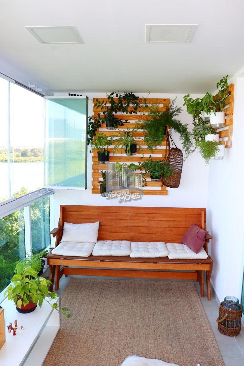 varanda - Apartamento À Venda no Condomínio ESSENCE CONDOMINIUM - Rio de Janeiro - RJ - Jacarepaguá - VRA4021 - 3