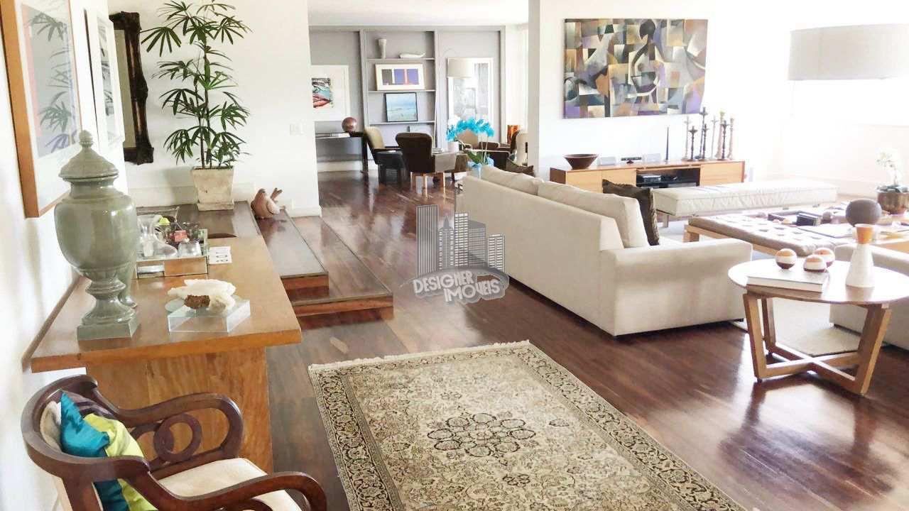sala de estar - Apartamento CONDOMÍNIO MACHADO DE ASSIS, Avenida Atlântica,Rio de Janeiro, Zona Sul,Copacabana, RJ Para Venda e Aluguel, 4 Quartos, 677m² - VLRA8888 - 1