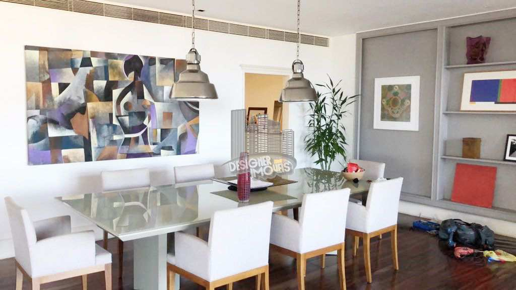 sala de jantar - Apartamento CONDOMÍNIO MACHADO DE ASSIS, Avenida Atlântica,Rio de Janeiro, Zona Sul,Copacabana, RJ Para Venda e Aluguel, 4 Quartos, 677m² - VLRA8888 - 5