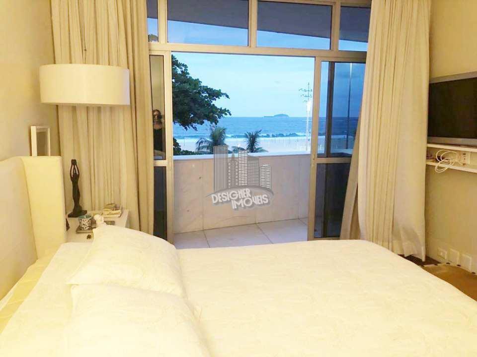 suíte master com varanda - Apartamento CONDOMÍNIO MACHADO DE ASSIS, Avenida Atlântica,Rio de Janeiro, Zona Sul,Copacabana, RJ Para Venda e Aluguel, 4 Quartos, 677m² - VLRA8888 - 12