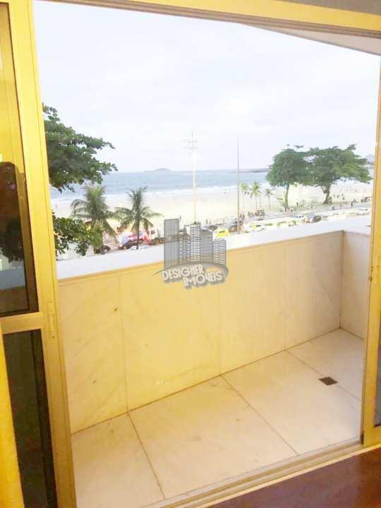 varanda suíte master - Apartamento CONDOMÍNIO MACHADO DE ASSIS, Avenida Atlântica,Rio de Janeiro, Zona Sul,Copacabana, RJ Para Venda e Aluguel, 4 Quartos, 677m² - VLRA8888 - 13