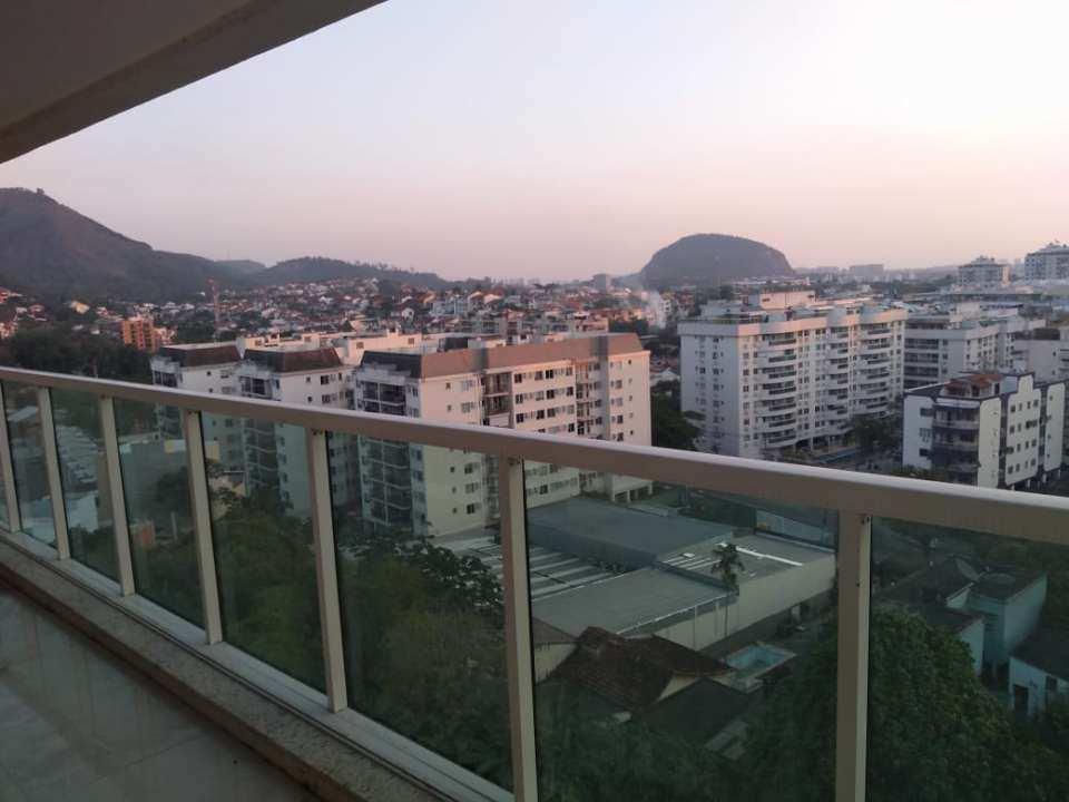 Vista da varanda - Cobertura 2 quartos para venda e aluguel Rio de Janeiro,RJ - R$ 792.000 - JPA2 - 20