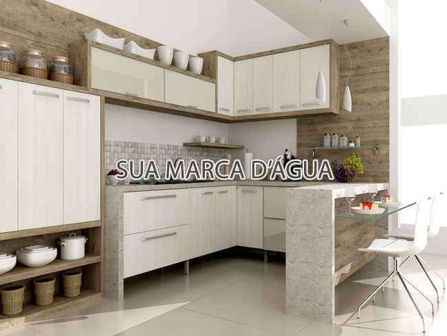 Cozinha - Casa Para Venda ou Aluguel - São José - SC - Centro - 0015 - 8