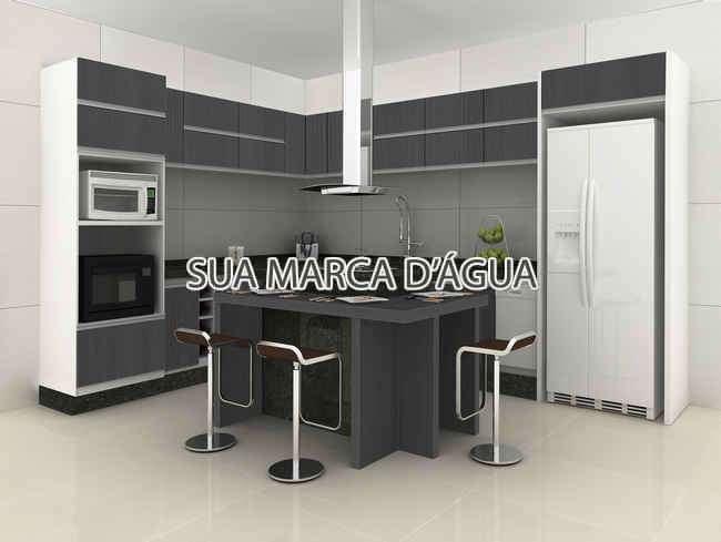 Cozinha - Casa Para Venda ou Aluguel - São José - SC - Centro - 0015 - 6