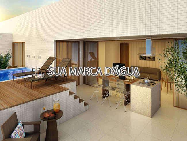 Varanda - Cobertura À VENDA, Copacabana, Rio de Janeiro, RJ - 0003 - 2