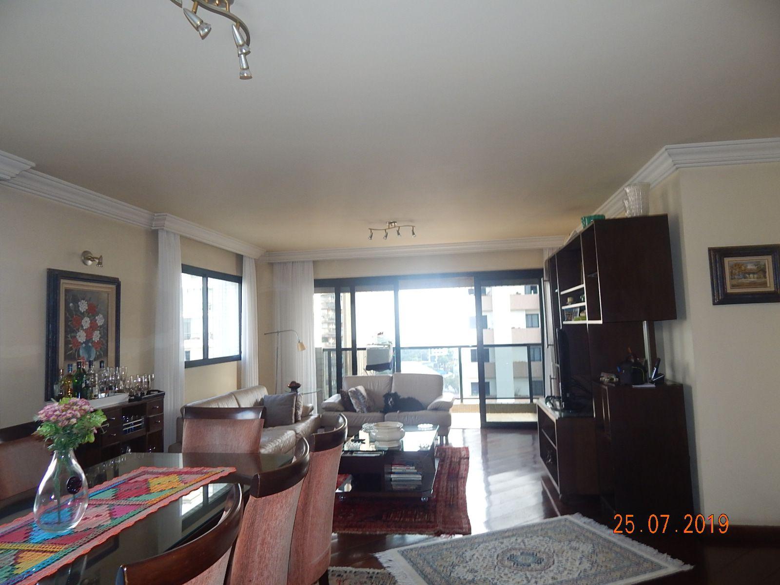 Apartamento Perdizes, São Paulo, SP Para Alugar, 4 Quartos, 173m² - LOCACAO0011 - 1