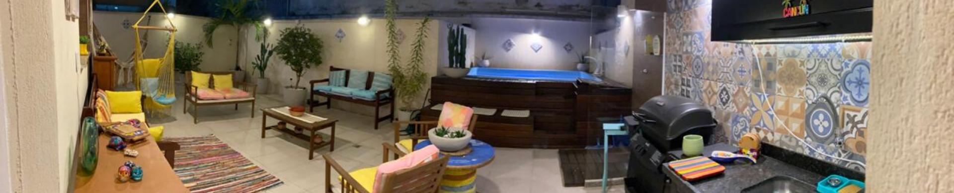 Apartamento Garden 03 quartos, 01 vaga, piscina com deck, Vila Isabel